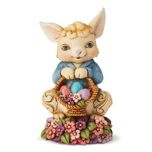 Jim Shore Pint Sized Easter Bunny Figurine | The Collectors Hub
