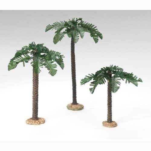 Nativity Palm Tree Set