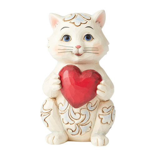 Valentine Mini Cat Figurine | The Collectors Hub