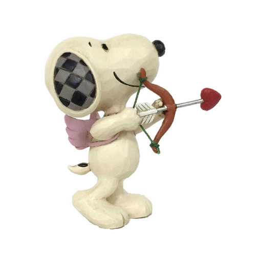 Jim Shore Peanuts Cupid Snoopy Mini Figurine
