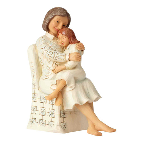 Grandmother and Granddaughter Figurine | The Collectors Hub