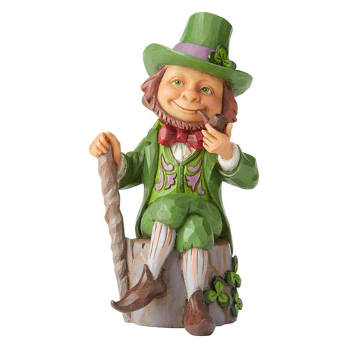 Mini Jim Shore Irish Leprechaun figurine | The Collectors Hub