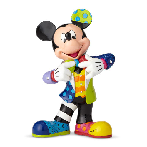 Mickey Mouse Bling 90th Anniversary Figurine by Britto