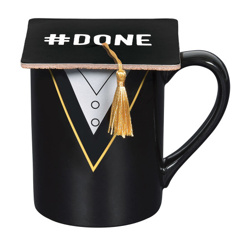 Graduation Coffee Mug and Coaster set