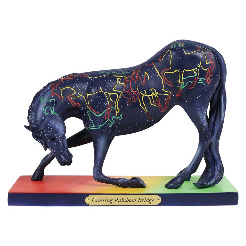 Crossing Rainbow Bridge Horse Figurine | Trail of Painted Ponies