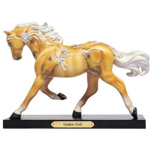 Trail of Painted Ponies Horse Figurine - Golden Girls