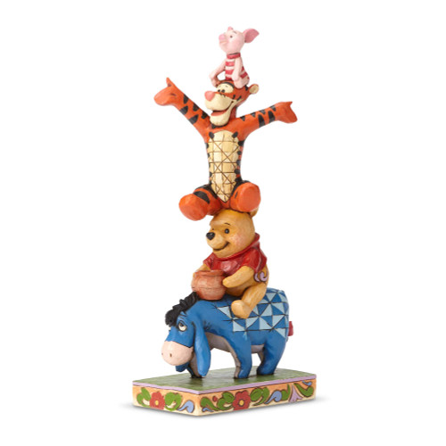 Jim Shore Disney Eeyore Pooh  Tigger and Piglet Figurine