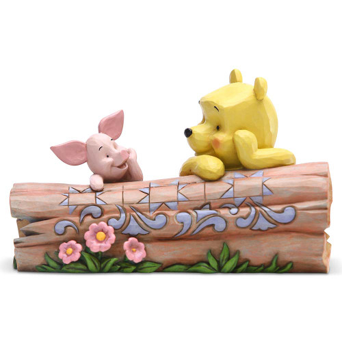 Jim Shore Winnie the Pooh and Piglet Figurine | The Collectors Hub