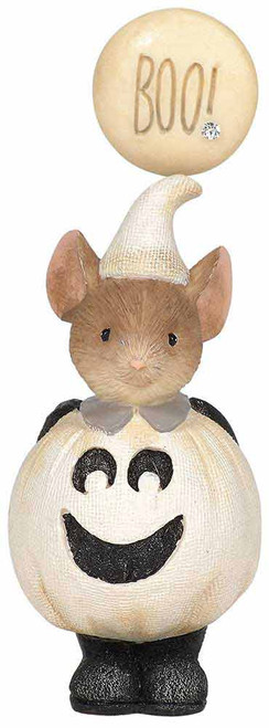 Happy Boo to You Halloween Mouse figurine from the Tails with Heart collection