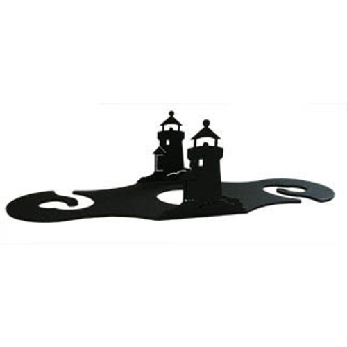 Table top wine caddy - Lighthouse design
