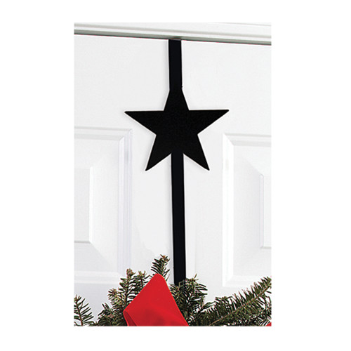 Door Wreath Hanger with Star Design