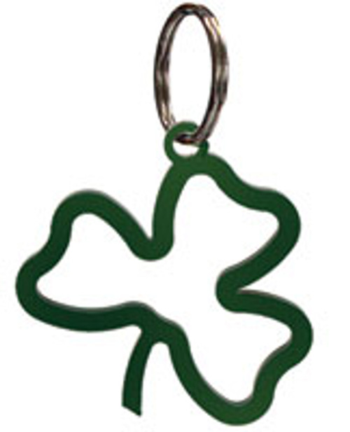 Green Shamrock Key Chain