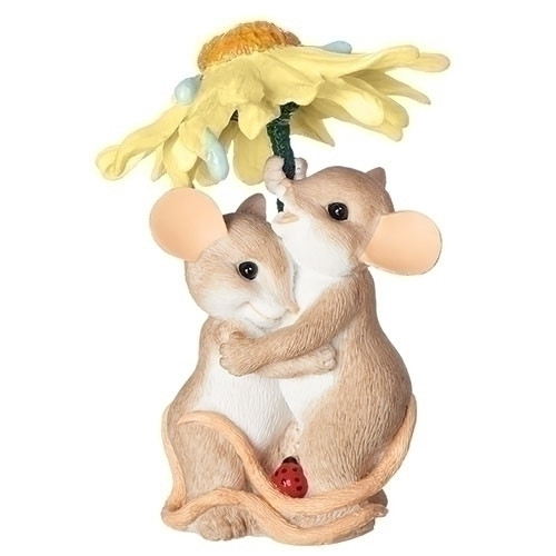 Charming Tails Rainy Days springtime figurine