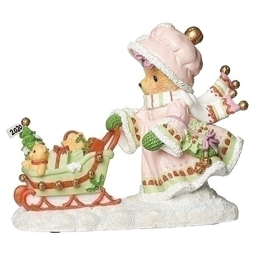 Cherished Teddies Annual Christmas Figurine - 2020