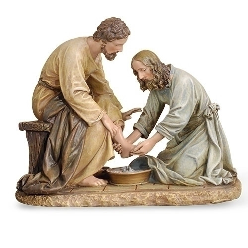 Joseph's Studio  Jesus Washing Feet Figurine