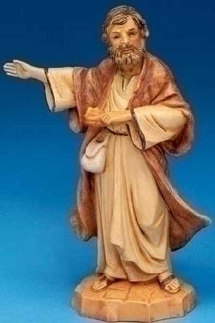 Fontanini Thaddeus, the Innkeeper Figurine, 5'' Scale