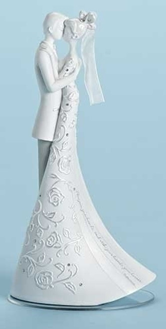 Gina Freehill First Dance Bride & Groom Wedding Cake Topper