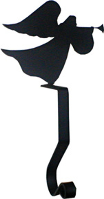 Wrought Iron Angel Mantel Hook