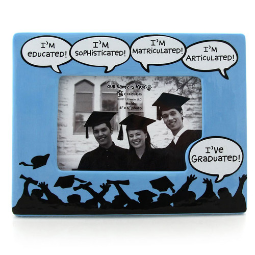 I've Graduated Photo Frame