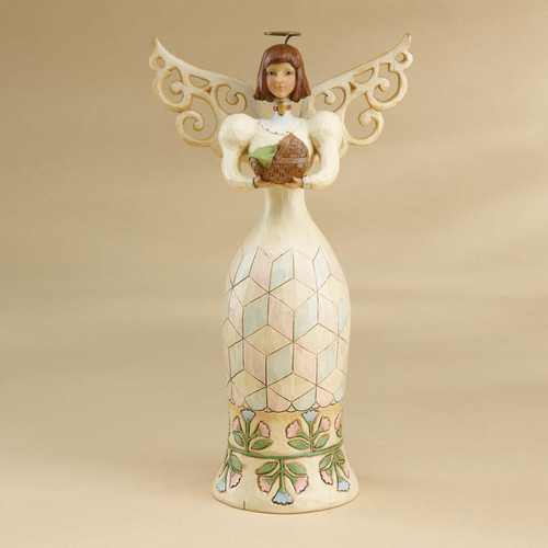Jim Shore Angel Figurine - Angel of New Life