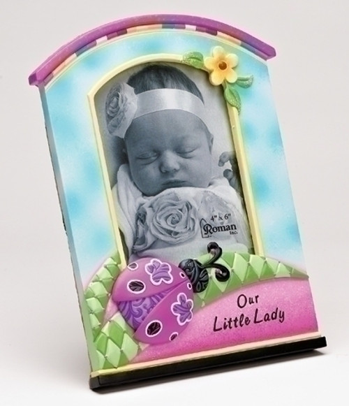 Our Little Lady Ladybug Photo Frame