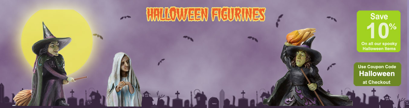 Shop for Halloween figurines and collecibles