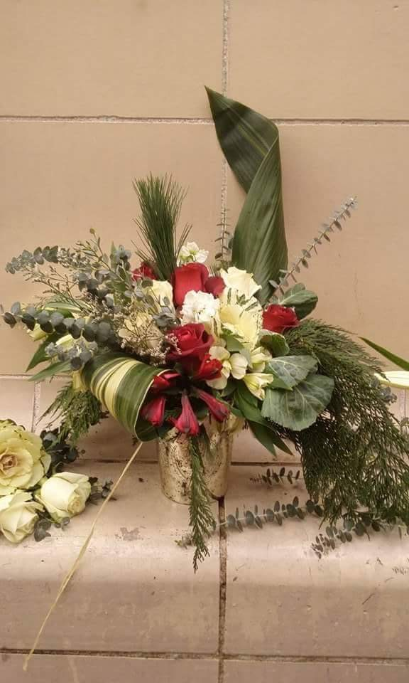 Merry and Bright -Holiday Arrangement (vase) $40.00-$175.00