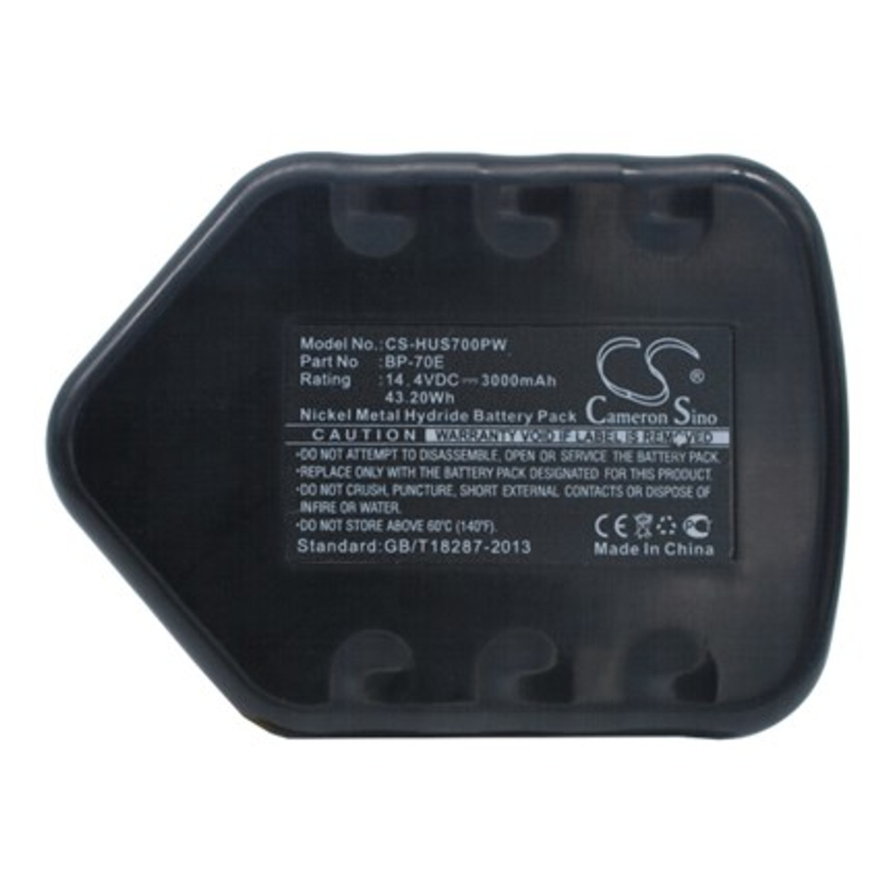 Huskie BP-70E High-Capacity  Replacement Battery
