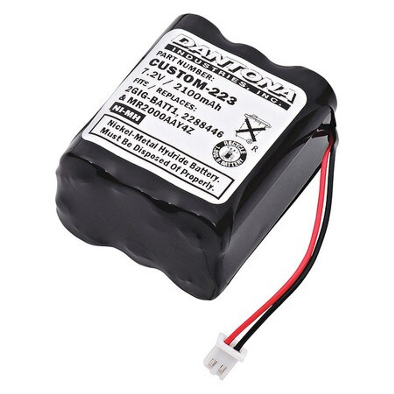 Fire Alarm Communicator Linear Corp Replacement Battery