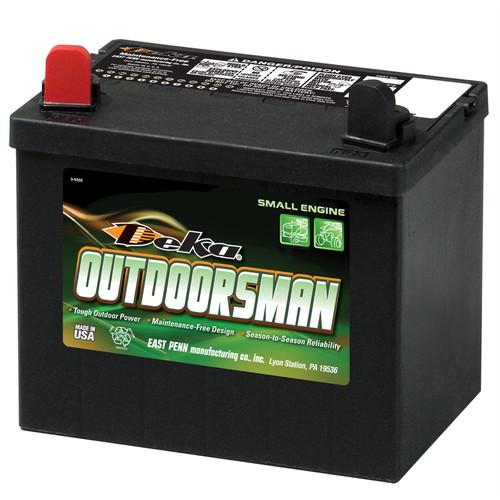 Deka Outdoorsman 12V 230CCA Battery Positive Left