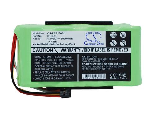 Fluke Scopemeter 120 BP120MH Replacement Battery