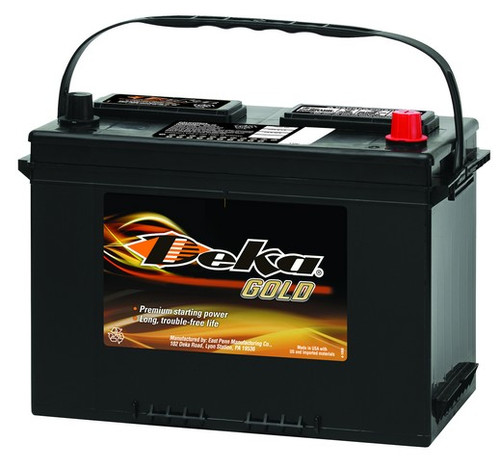 DEKA 12V 710CCA STARTING BATTERY POSITIVE RIGHT