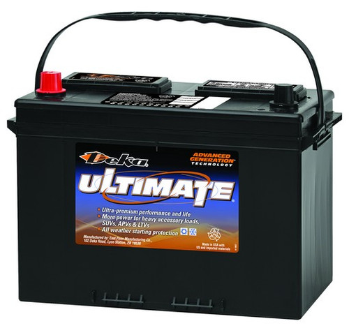 DEKA 12V 840CCA STARTING BATTERY POSITIVE LEFT