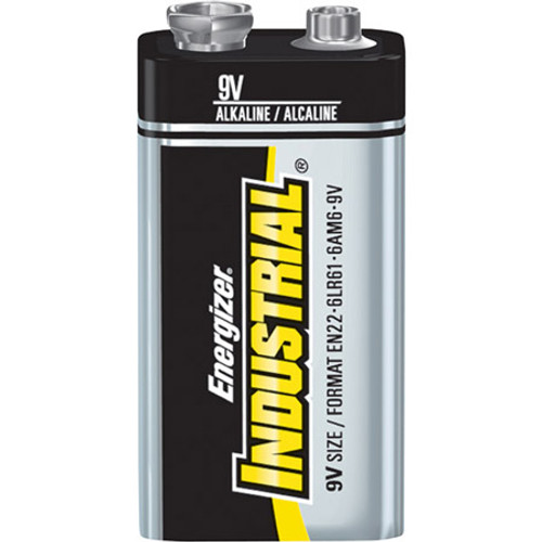 ENERGIZER INDUSTRIAL 9VOLT (CASE OF 72)