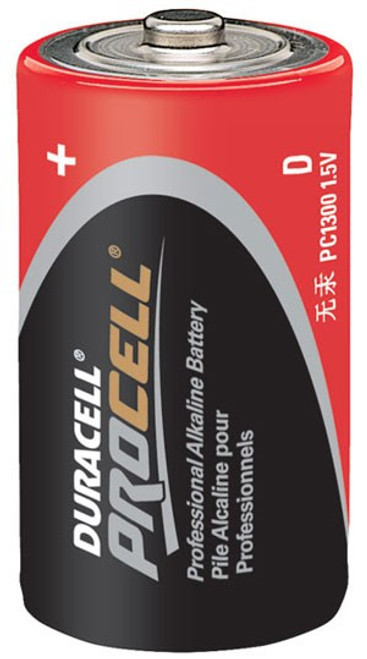 DURACELL PROCELL D SIZE (CASE OF 72)