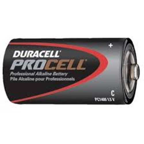 DURACELL PROCELL C SIZE (CASE OF 72)