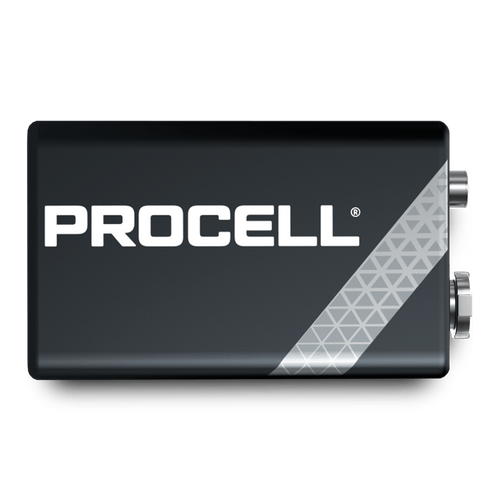 DURACELL PROCELL 9VOLT (BOX OF 12)