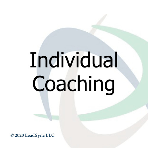 Individual Coaching - 5 pack