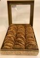 Barazek Sesame Seed and Pistachio Cookies - 60 Pcs Signature Gift Box