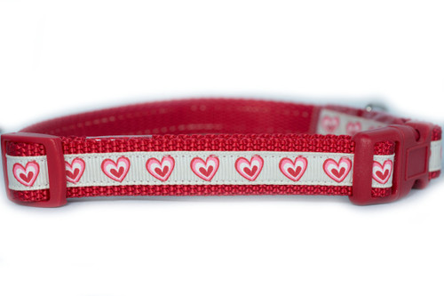 Dog Collar 2 Wide Valentines Day