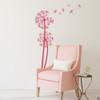 The Olsen twin Dandelion wall decals in pink