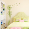 The Olsen twin Dandelion wall decals in olive