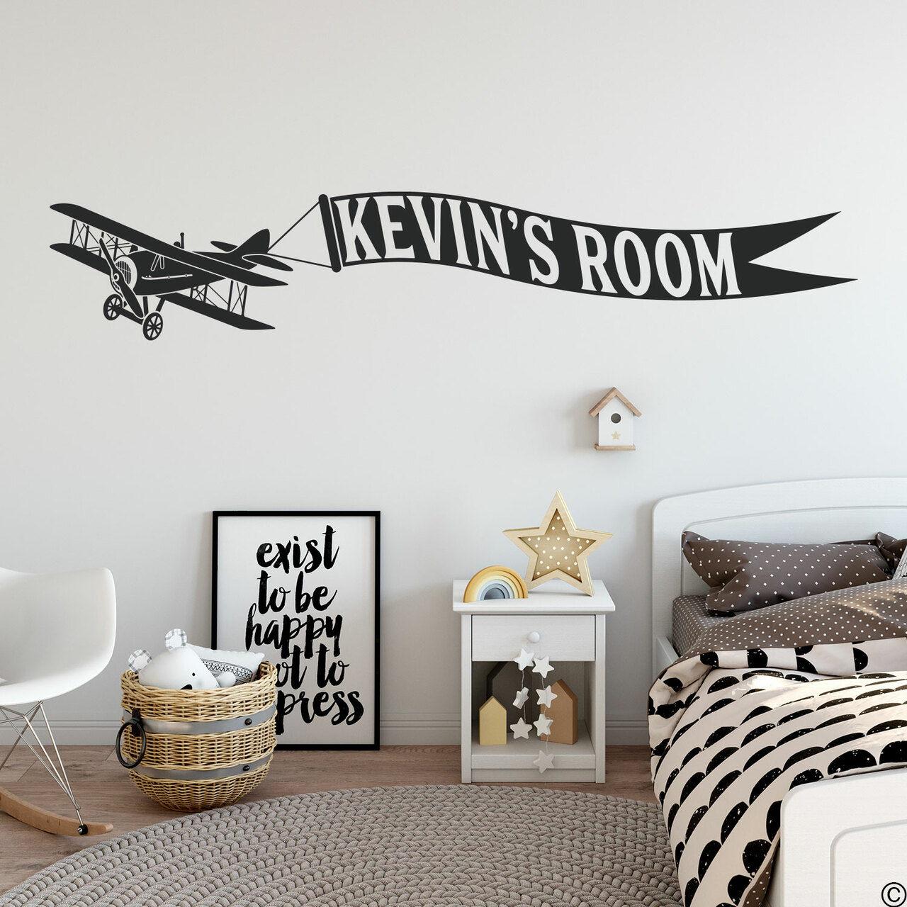 Biplane Banner