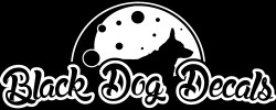 Black Dog Decals