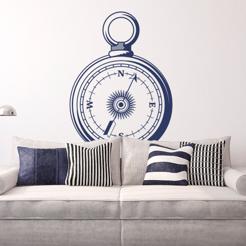 Removable Decal Made In Australia COMPASS Wall Sticker