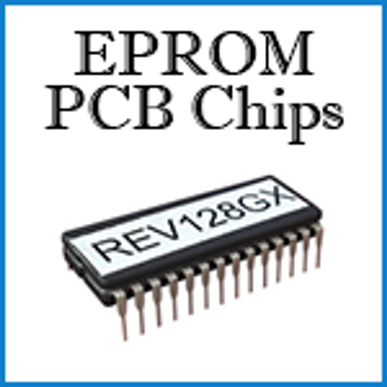 EPROM PCB Chips