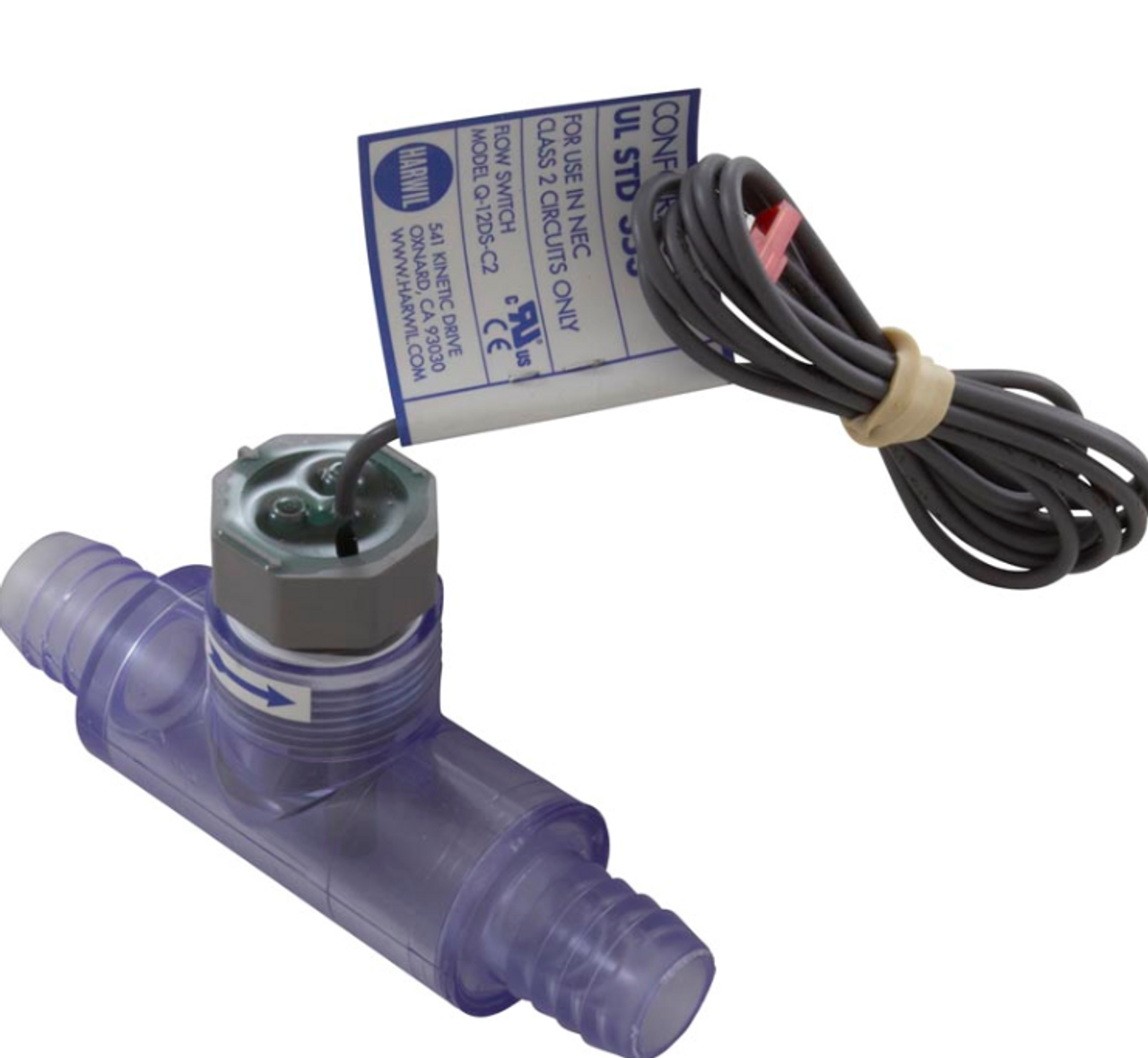 Harwil Q-12DS-C2 Flow Switch with Tee