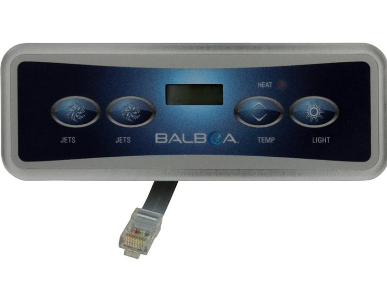 Hot Tub Parts Balboa VL401 Topside Control Panel 4 Button 1 Pump /& Air