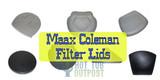 Coleman Maax Filter Lids