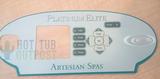 Artesian Control Panel 4-Pump Overlay 11-0046-77